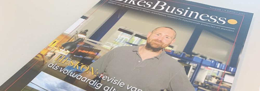 Heskon coverstory BikesBusiness Magazine