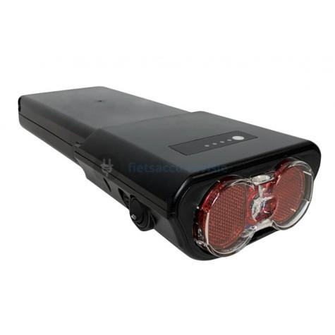 Ansmann e-bike battery 36v achterlicht